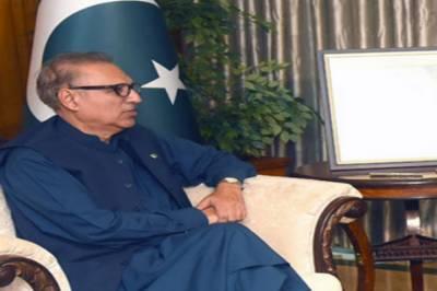 President Alvi emphasizes need for strengthening cooperation b/w Pakistan, Kuwait
