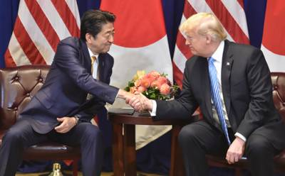 Trump announces start of trade negotiations with Japan