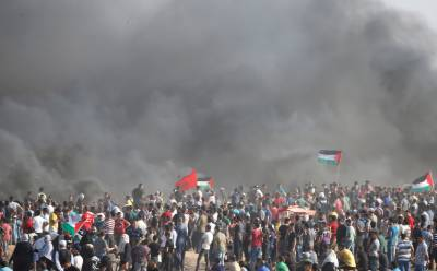 7 killed as Israeli troops fire on Gaza protest
