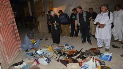 Police, CTD seize explosives in joint raid