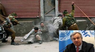 UN Chief voiced concern over prevailing HR situation in IOK