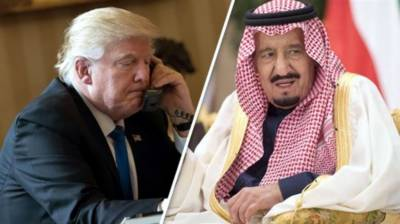 US President, Saudi King discuss oil market issues