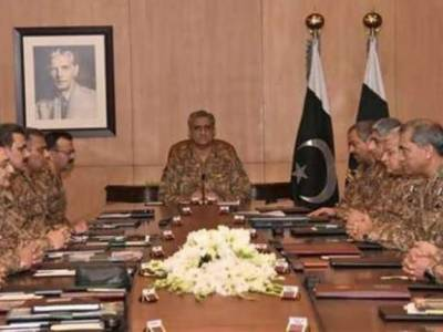 214th Corps Commander's Conference held at GHQ
