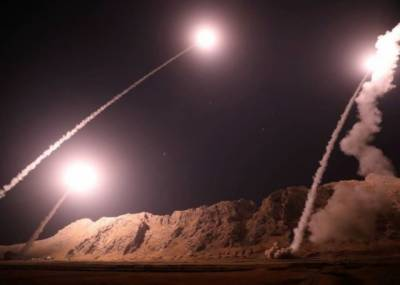 Iran launches missile strike against terrorists headquarters in Syria