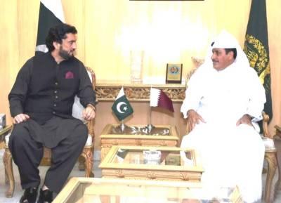 Pakistan Qatar to strengthen bilateral ties