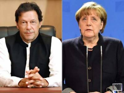 PM Imran Khan accepts German Chancellor Angela Merkel invitation