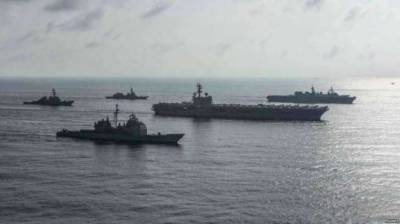 China hits back at US over warship's entry into South China Sea