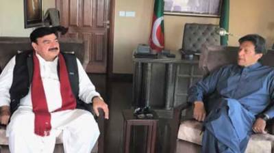 Imran, Rashid discuss matters relating to Railway Ministry