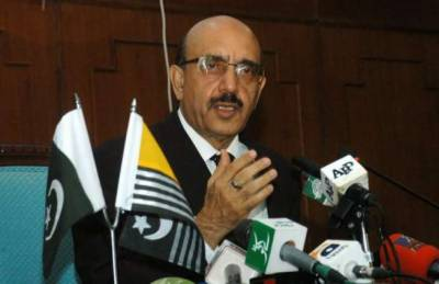 Indian machinations will not deter Kashmiris' struggle for freedom: AJK President: