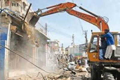 Massive anti encroachemnet operation launched across Lahore