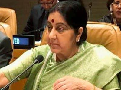 Sushma Swaraj comes under fire in India