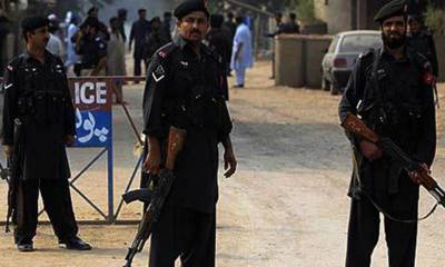 Three security personnel martyred in a bomb blast