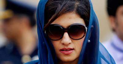Former foreign minister Hina Rabbani Khar is back in action
