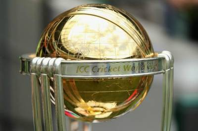 ICC 2019 World Cup trophy arrives in Lahore