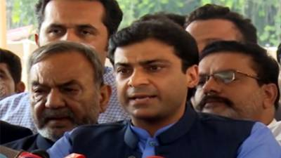PML-N stands with democracy: Hamza