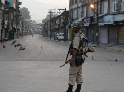 Complete shutdown in Occupied Kashmir against new military camp by Indian Army
