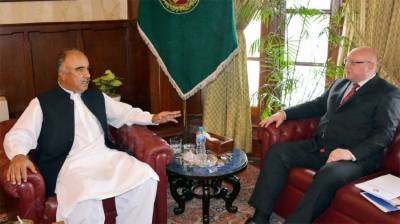KP Governor, Ambassador of Belarus discuss matters of mutual interest