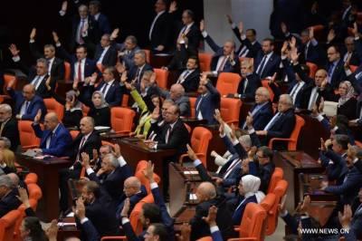 Turkey parliament extends mandate for troop deployment in Syria, Iraq