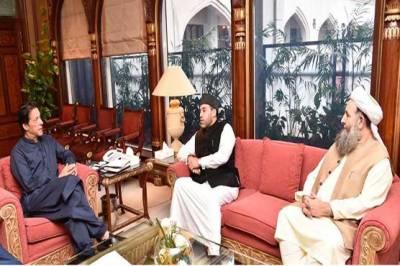 Custodian of holy shrine of Sheikh Abdul Qadir Gilani called on PM Imran Khan