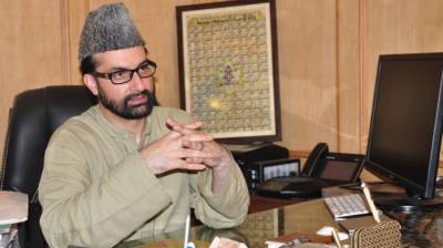 Mirwaiz condemns military operation in name of civic polls in IOK