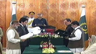 Six new ministers inducted in federal cabinet