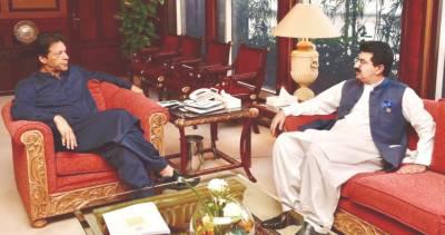 Chairman Senate meets PM in Islamabad