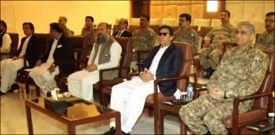 COAS General Bajwa briefs PM Imran Khan over security situation in Balochistan