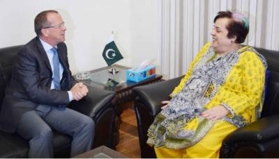 German envoy lauds steps taken by govt for human rights protection