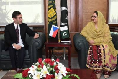 Zubaida Jalal emphasizes to extend cooperation in defence production with Czech Republic