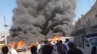 Car bomb blast kills 4 in Azaz