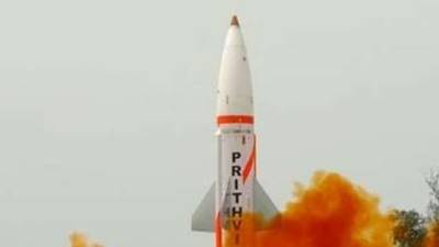 India test launches night version of nuclear capable Prithvi-II Missile