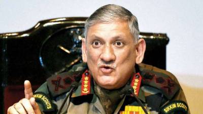 Indian Army Chief General Bipin Rawat rejects US concerns