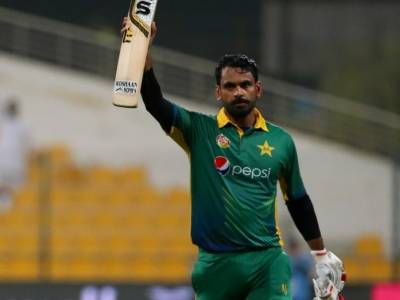 Mohammad Hafeez makes historic record in his first Test match after two years gap