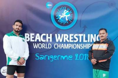 Pakistani Wrestler Muhammad Inam makes history
