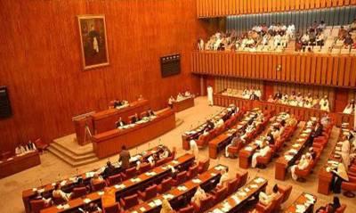 Senate Session on Monday
