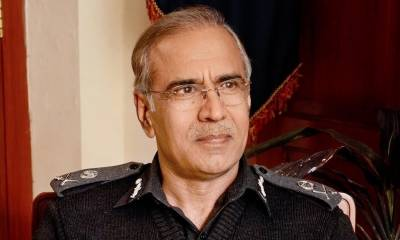 Former IGP Mushtaq Sukhera gets the worst blow