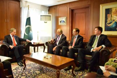 Pakistan US to work together on Afghan peace process