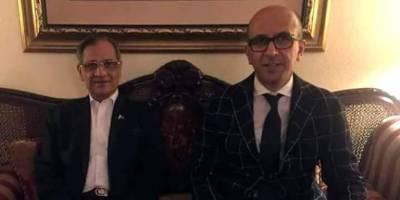 British Pakistani Anil Musarrat, PM aide on 5 million housing project meets CJP Justice Saqib Nisar
