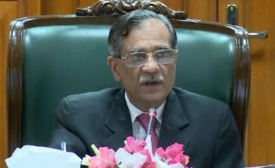 CJP Justice Saqib Nisar gives a piece of advice to top bureaucrats