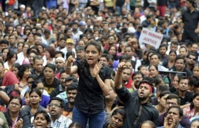 Indian schoolgirls beaten after protesting sexual harassment