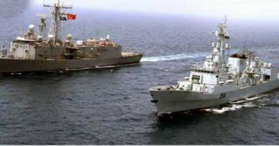Pak-Turk naval forces hold bilateral exercises in Mediterranean Sea