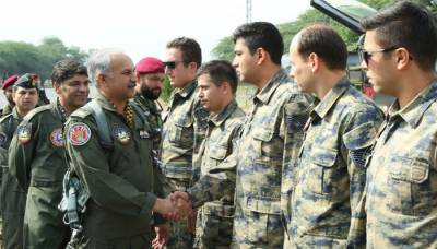 Pakistan and Turkish Airforces hold joint war exercise