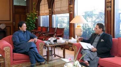 PM Imran Khan, AJK PM discuss matters pertaining to Azad Kashmir