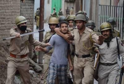 Several Kashmiris arrested to prevent protest against sham polls in IOK