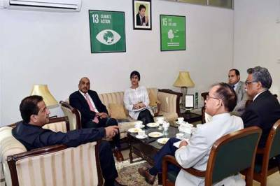World Bank delegation calls on Advisor to PM on Climate Change