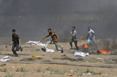 Israeli military martyrs five Palestinians along Gaza Israel border