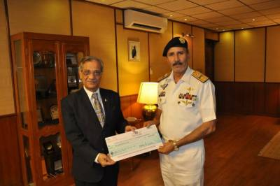 Karachi Port Trust makes a big donation for Diamer Bhasha Dam fund