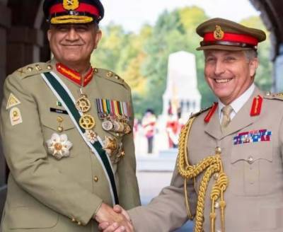 Pakistan Army Chief holds important meetings with top officials in London