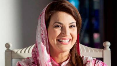 Reham Khan fails to mock Imran Khan yet again with a cheap joke