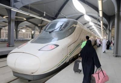 Saudi Arabia's Haramain train opens to public